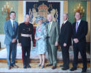 Presentation of the Award at Hillsborough Castle