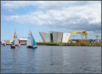 Titanic Quarter and Goliath at Harland & Wolff